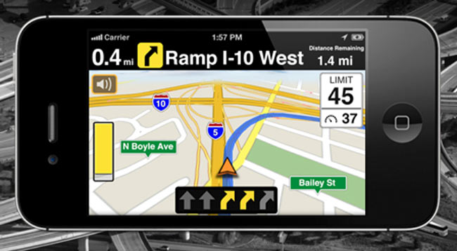 In California, Using Smartphone Map Applications While Driving is Illegal